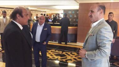 عبطان يناقش مع مسعود المباريات والبطولات الدولية التي يضيفها العراق