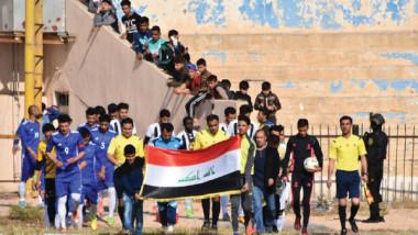 علاء كاظم: سعداء بمشاركة أهلنا الفرحة وكرة الرمادي تحتاج إلى دعم الجميع