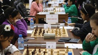 فوز رجالنا ونسائنا بالجولة السابعة لاولمبياد الشطرنج