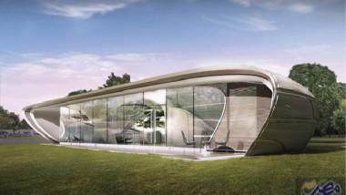 """منزل مستقبلي """"منحنى الجاذبية"""""""