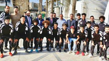 آراس حبيب رئيساً فخرياً لنادي الحرية الرياضي