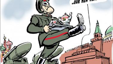 إسلحة بوتين عن موقع «كارتون سياسي»