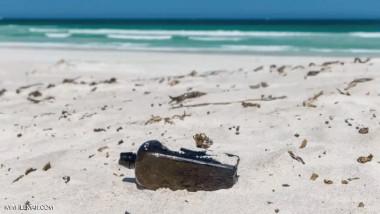 العثور على أقدم رسالة في العالم داخل زجاجة