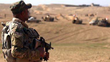 العمليات العسكرية تواصل قتال فلول داعش لإنهاء تواجدهم