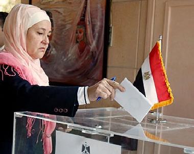 المصريون في الخارج يقبلون على المشاركة في الانتخابات الرئاسية