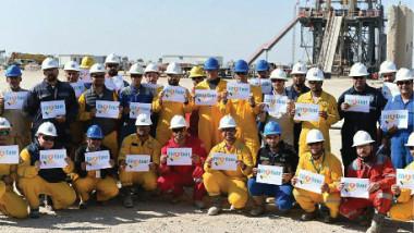 بتروناس الغرّاف وشركة الحفر العراقية: إنجاز الآبار  بأفضل المواصفات النوعية وأعلى مستويات الأمان