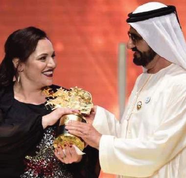 بريطانية تفوز بجائزة أفضل معلم في العالم