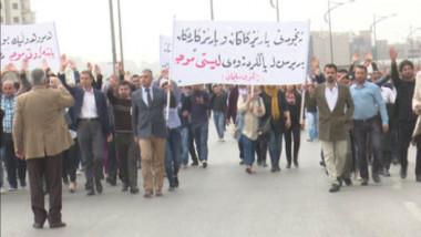 """""""الاتحادية"""" تطالب الإقليم بتلبية مطالب المتظاهرين وإلغاء الإدخار الإجباري"""