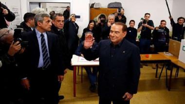 صعود ائتلاف برلسكوني في الانتخابات التشريعية الإيطالية