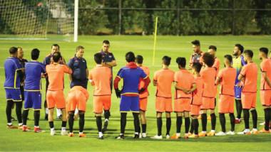 غداً.. منتخبنا الوطني يلاقي قطر في افتتاح بطولة الصداقة الدولية