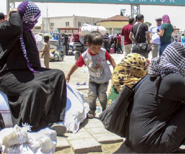مدنيون بلا أمل ورئيس بلا دولة في سوريا