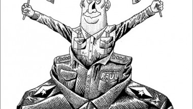 التغيير في كوبا عن موقع «كارتون سياسي»