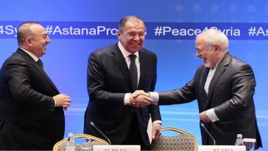 الدول الضامنة تتحِد وتتمسك بفعالية إستانة وقرارات سوتشي