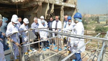 العراق يناقش خطة الشروع بمعالجة  المخلفات النووية في مفاعل تموز