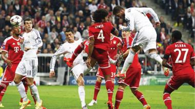 اليوم.. بايرن ميونيخ يلاقي ريال مدريد في نصف نهائي دوري أبطال أوروبا