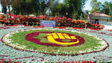 انطلاق مهرجان بغداد الدولي العاشر للزهور