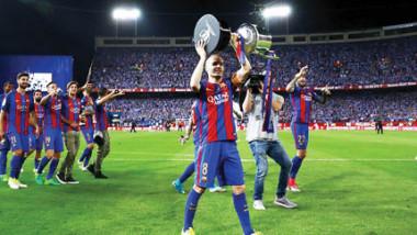 برشلونة يحيي رقماً عمره 38 عاماً.. ويتفوق على تاريخه
