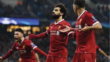 صلاح يتعملق ويضع ليفربول على مشارف نهائي دوري الأبطال