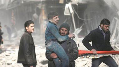 ضربات جوية تستهدف جيبا لمقاتلي المعارضة قرب دمشق