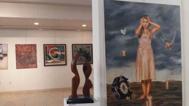 على قاعة جمعية الفنانين التشكيليين.. عشتار تستضيف شباب التشكيل