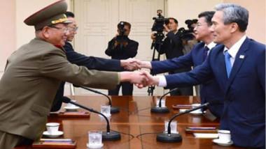 قمة تاريخية بين الكوريتين تعزز الأمل بتحقيق السلام الجمعة المقبلة