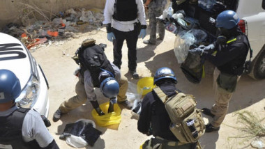 الغرب يتهم الروس والسوريين بإعاقة مفتشي الأسلحة الكيمياوية