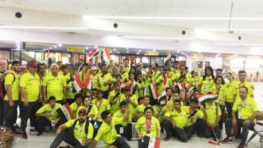 ملاعب «أبو ظبي» تشهد لأبطال العراق وتزيّن صدورهم بـ 50 وساما متنوعا