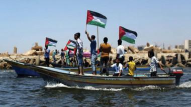 أول رحلة بحرية فلسطينية لكسر الحصار على غزة