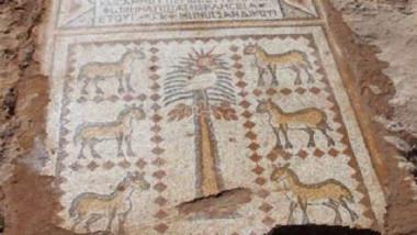 اكتشاف ثاني أكبر لوحة فسيفساء في سوريا