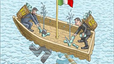 التراجيديا الايطالية عن موقع «كارتون سياسي»