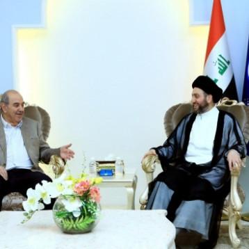 الحكيم وعلاوي يبحثان خارطة التحالفات السياسية المقبلة