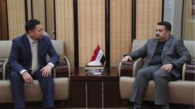 العراق والصين يبحثان دعم مراكز التدريب المهني بالخبرات
