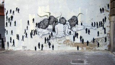 جدران بدون غرافيتي: تحقيق نبوءة الفن الزائل