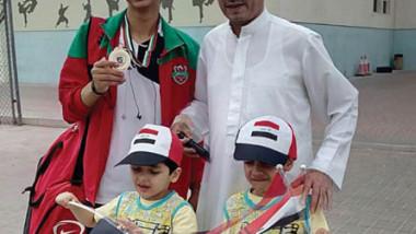زيد علي شدهان بطل دوري «كاراتيه الإمارات»