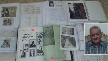 عراقي يؤرشف الحركة الفنية والأدبية في البلاد
