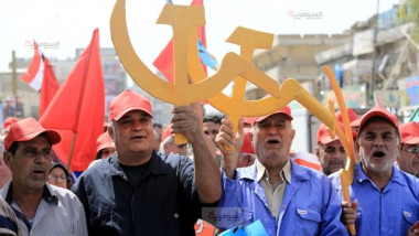 عمال العراق يحتفلون بعيدهم العالمي