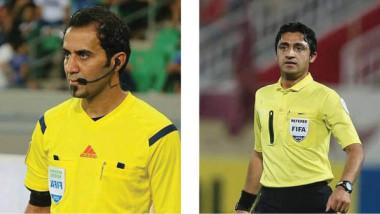 قاسم ومدلل يشاركان في إدارة التصفيات المؤهلة لكأس العرب للأندية الأبطال