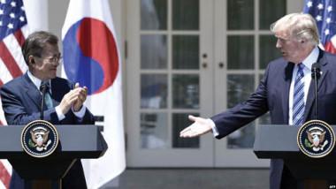 قمة كيم وترامب في صلب محادثات الرئيس الكوري الجنوبي في البيت الأبيض