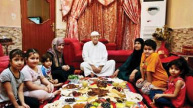 متعة المائدة العراقية  في رمضان والتبذير فيها