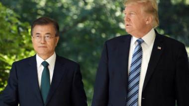 محادثات بين سيول وواشنطن لعقد قمة ترامب وكيم