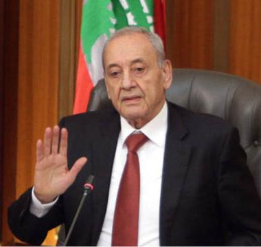 نبيه بري رئيس للبرلمان اللبناني المرة السادسة على التوالي