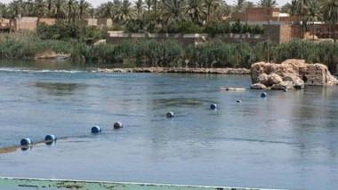 وزير الموارد المائية يعلن عن ارتفاع منسوب نهر الفرات في هيت