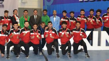 22   وساماً حصيلة أسود العراق بالكيك بوكسنغ في بطولة آسيا
