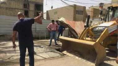 أمين بغداد تتجه صوب حملة كبرى لإزالة التجاوزات في العاصمة