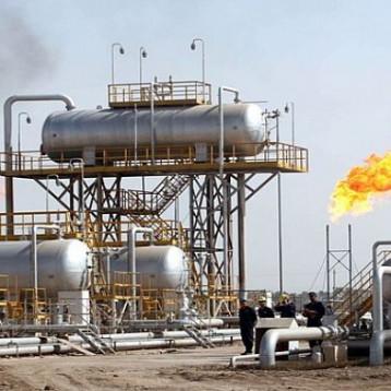 إنتاج الغاز من حقل الناصرية النفطي