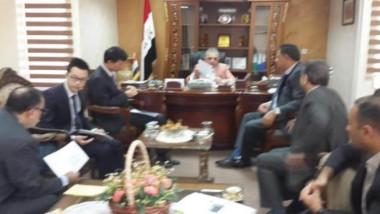 التجارة تبحث المنحة الصينية للحبوب وفق المواصفات العراقية