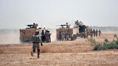 العمليات المشتركة تقتل 14 عنصرًا من داعش في الصحراء بين صلاح الدين والأنبار