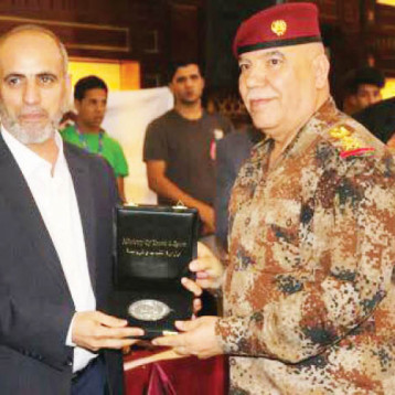«المبارزة» يثمّن دور قائد عمليات بغداد في نجاح بطولة بغداد الدولية