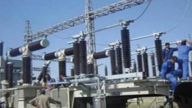 الوسطى تواصل اعمال الصيانة الدورية لعدد من محطاتها التحويلية