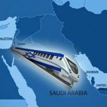 خط سكة حديد يربط إسرائيل بالسعودية والشرق الأوسط بالعالم